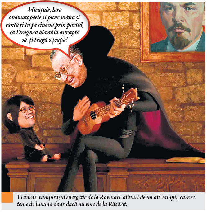 Iliescu Ponta cartoon