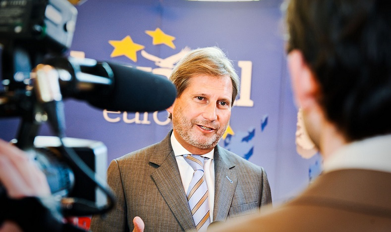 Commissioner for European Neighbourhood Policy & Enlargement. Credit: Friends of Europe / Flickr (CC BY-SA 3.0)