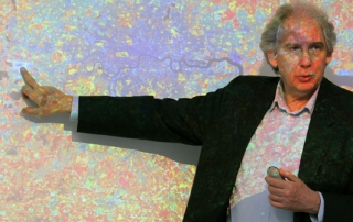 Professor Ricky Burdett leads a session on managing urban change