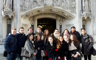 Global Dimensions Programme students at the Supreme Court