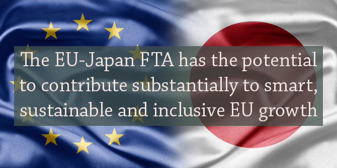What will be the economic, social and environmental effects of the EU-Japan Free Trade Agreement?
