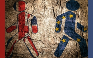 UK and EU separation