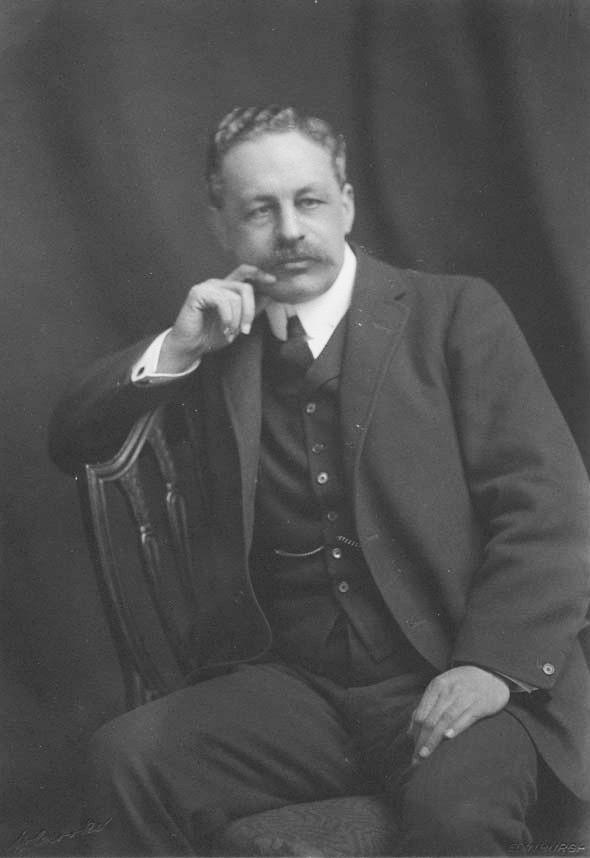 Halford Mackinder, c1910
