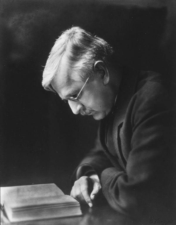 Graham Wallas, c1920s, LSE Library