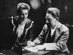 Beatrice and Sidney Webb c. 1895