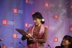 Aung San Suu Kyi at LSE