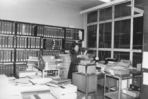 Angela Raspin, LSE archivist