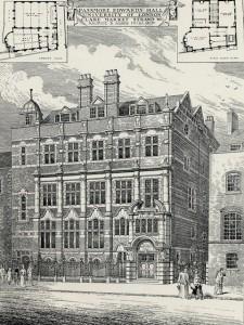 Passmore Edwards Hall, 1902