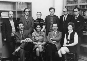Department of Social Psychology, 1970