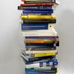 Stack of Psychology books