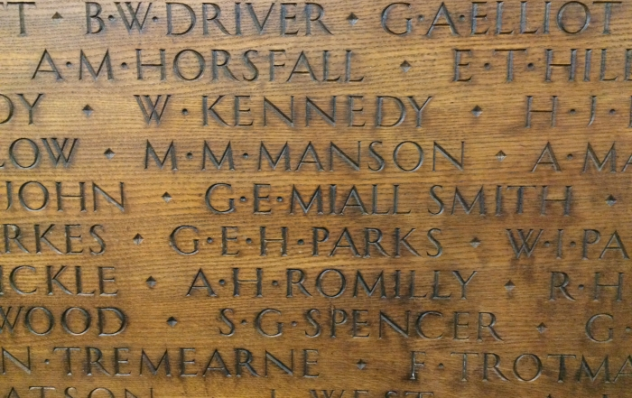 Lest We Forget – LSE's First World War roll of honour