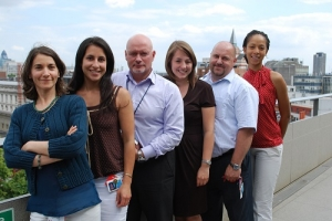 LSE's Sustainability team in 2009
