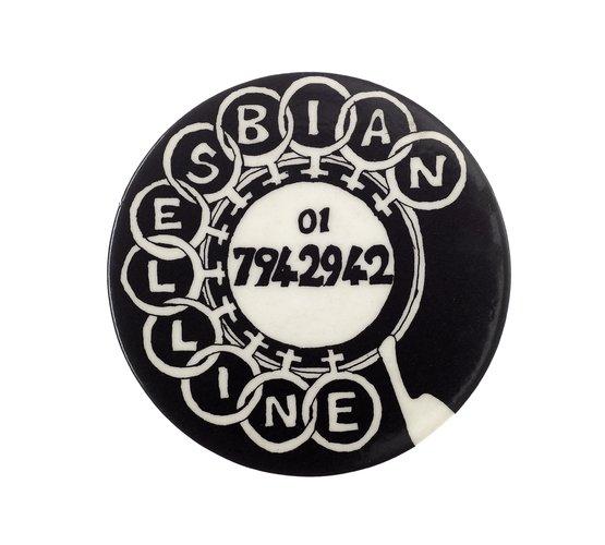 Lesbian Line badge