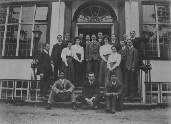 Early LSE student group c1910
