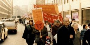 Miners' Strike rally, London 1984