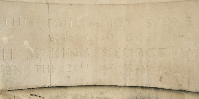 Old Building foundation stone
