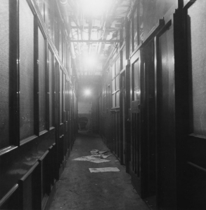 St Clement's Press interior c1959