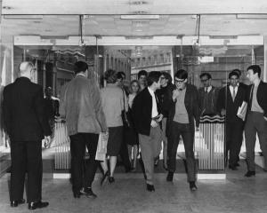 St Clement's main entrance 1964