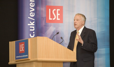 George Akerlof at the Stamp Memorial Lecture: Economics and Identity. Old Theatre, LSE Old Building. 25th April 2007