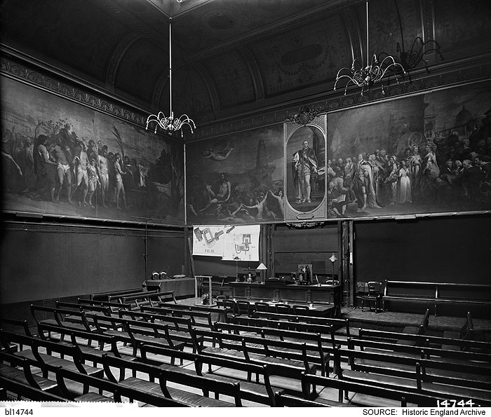 The lecture theatre at the Royal Society of Arts