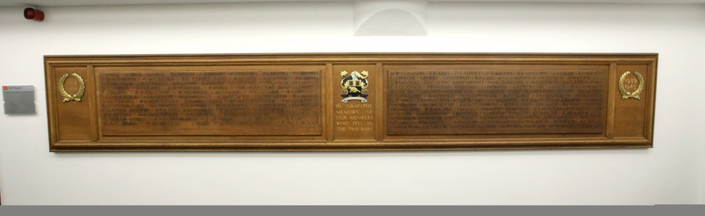 LSE's War Memorial. Credit Nigel Stead/LSE