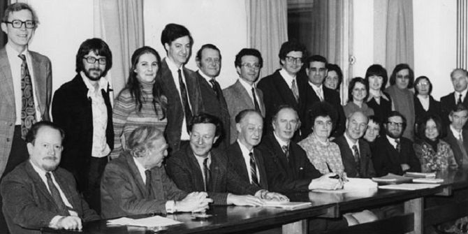 LSE Government Department, 1975