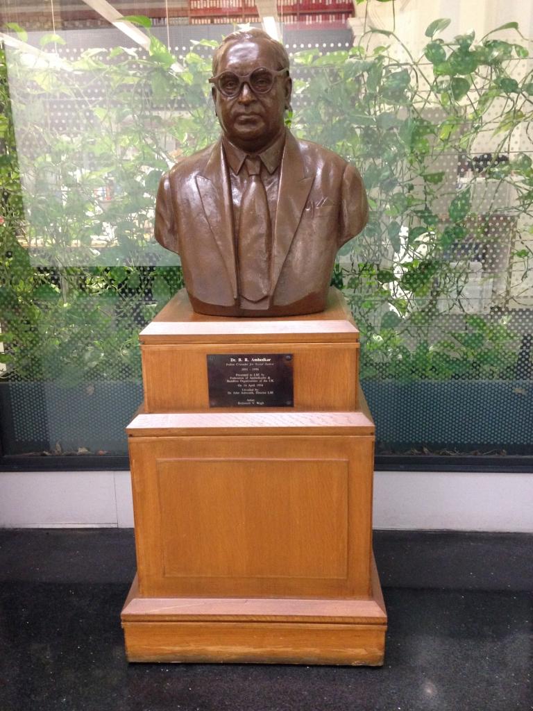 Ambedkar bust, Atrium