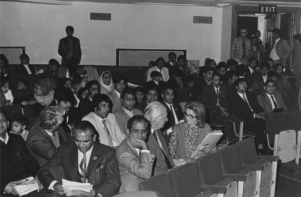 Audience in the Old Theatre 1973
