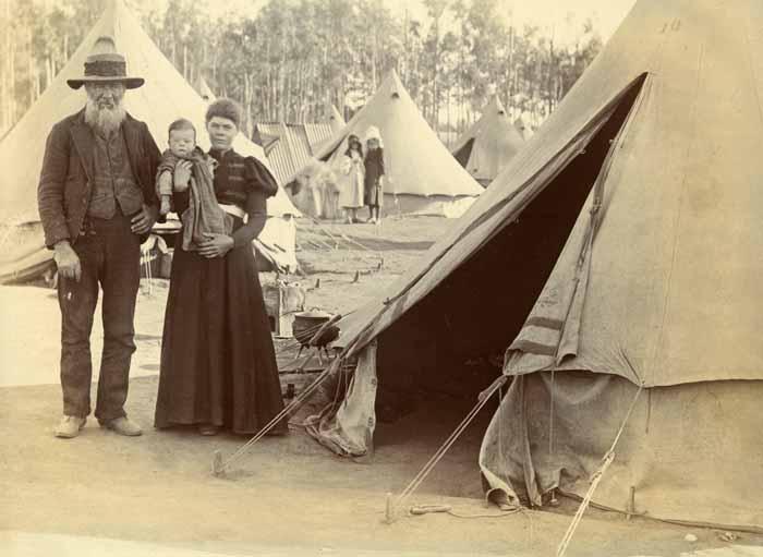 Boer camp, 1901 (ref 7MGF/E/1/120)