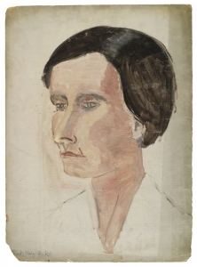 Mary Danvers Stocks, Baroness Stocks, by Rachel Pearsall Conn ('Ray') Strachey, 1925-37