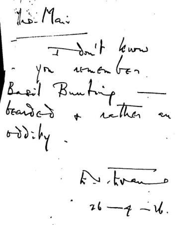 Letter to Mrs Mair 2