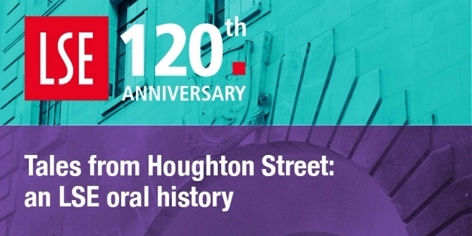 Tales from Houghton Street - on the LSE Digital Library