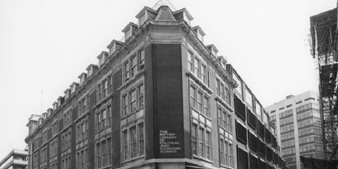 Making space for books and readers – a history of LSE's Library