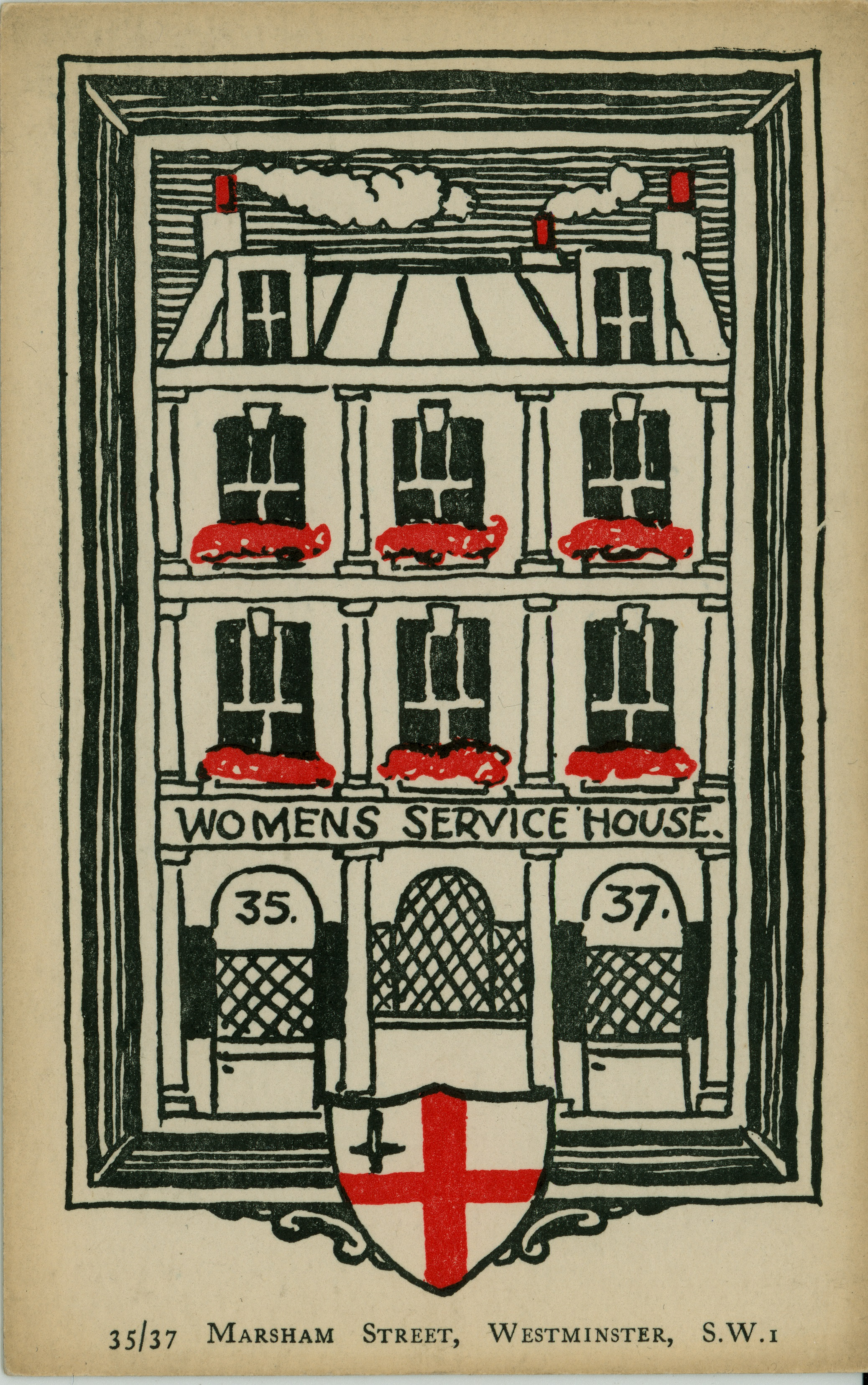 Women's Service House in Marsham Street, Westminster