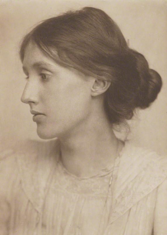 Virginia Woolf by George Charles Beresford, platinum print, July 1902, , National Portrait Gallery