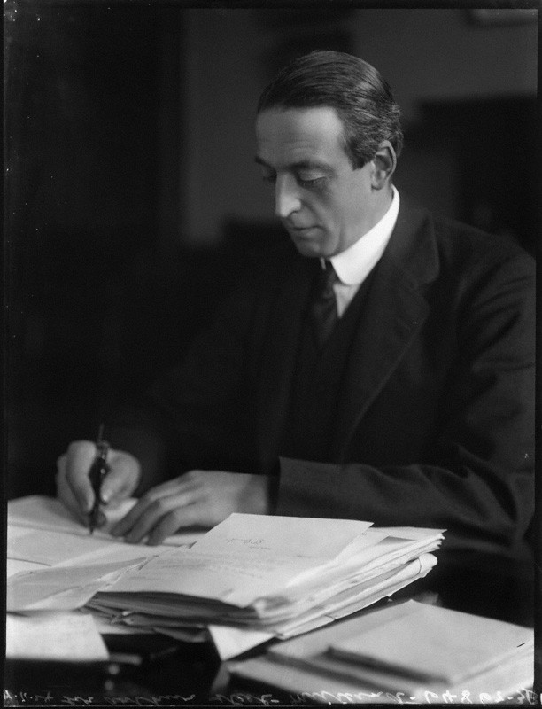 Sir Arthur Steel-Maitland, 1924