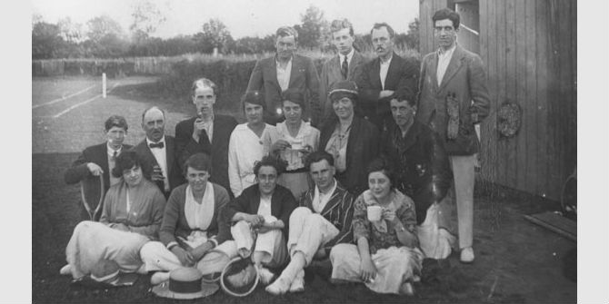Tennis at LSE in the 1920s