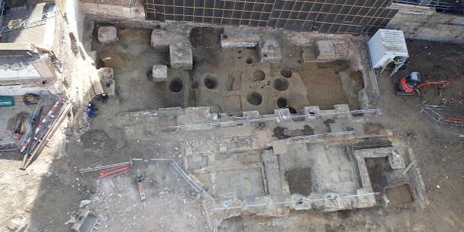 The world below – archaeology at LSE