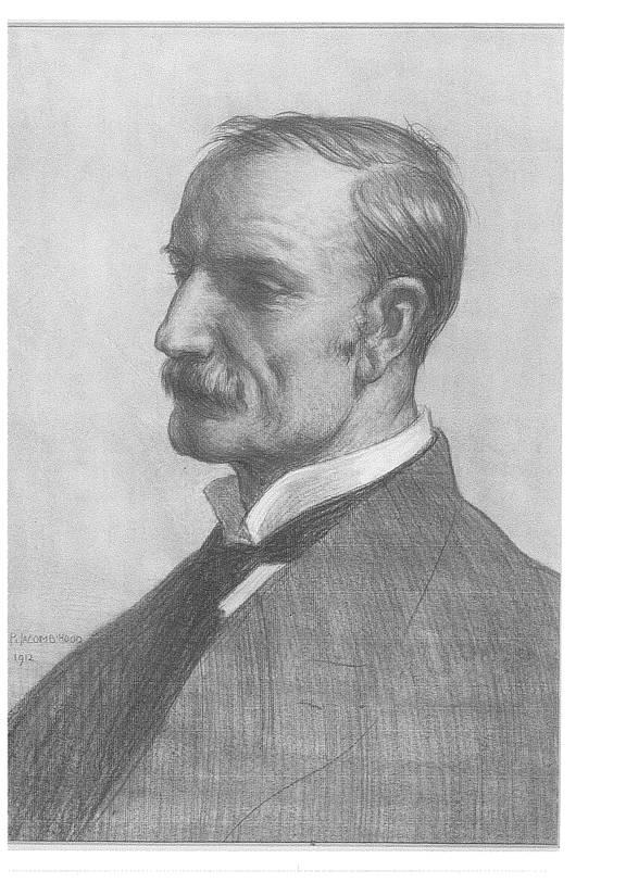 William Pember Reeves by George Percy Jacome Hood