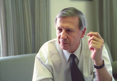 Anthony Giddens, 2006. Credit: LSE/Nigel Stead