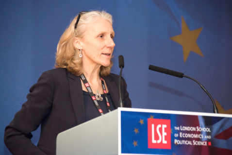 Professor Julia Black, 2016. Credit: LSE/Francesco Serrafini