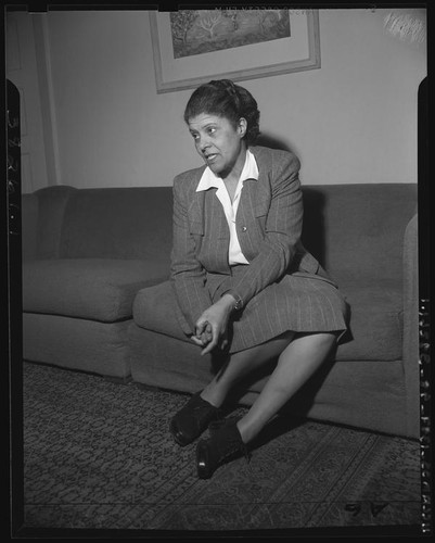 Eslanda Robeson, UCLA special collections