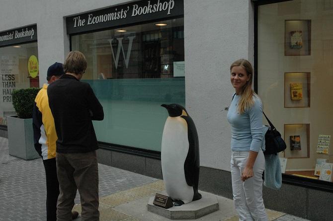 Yolanda Vandergaast and Penguin from yolandavandergaast.com
