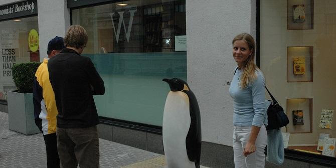 The LSE Penguin by Yolanda Vandergaast