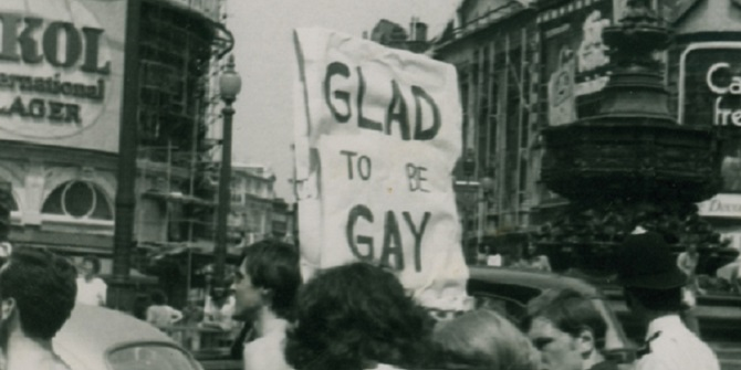 Glad to be gay – the Hall-Carpenter Archives at LSE Library