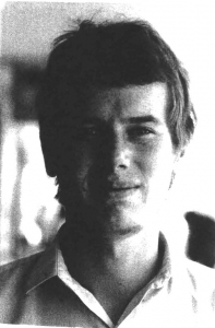 Bob Mellors, c1969 LSE\Student File\Mellors