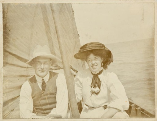 Vera and Gordon, c1900