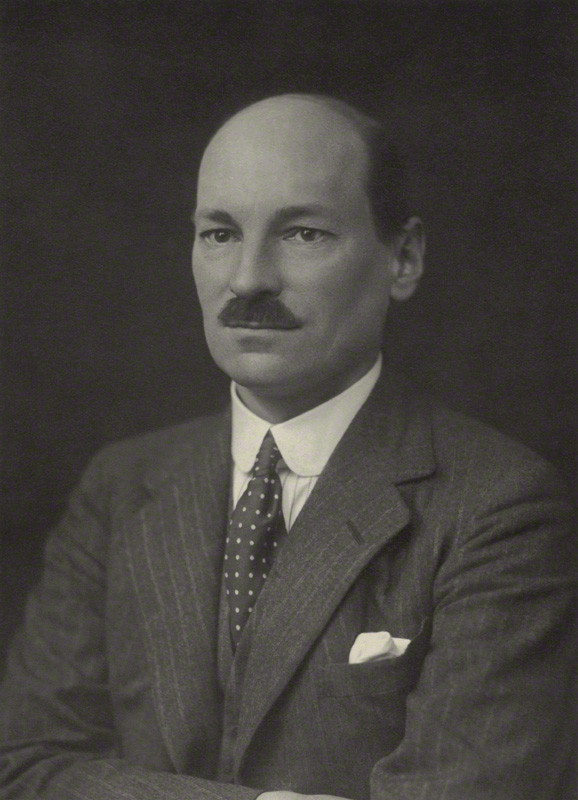 NPG x163783; Clement Richard Attlee, 1st Earl Attlee by Walter Stoneman, bromide print, 1930. Image courtesy of the National Portrait Gallery.