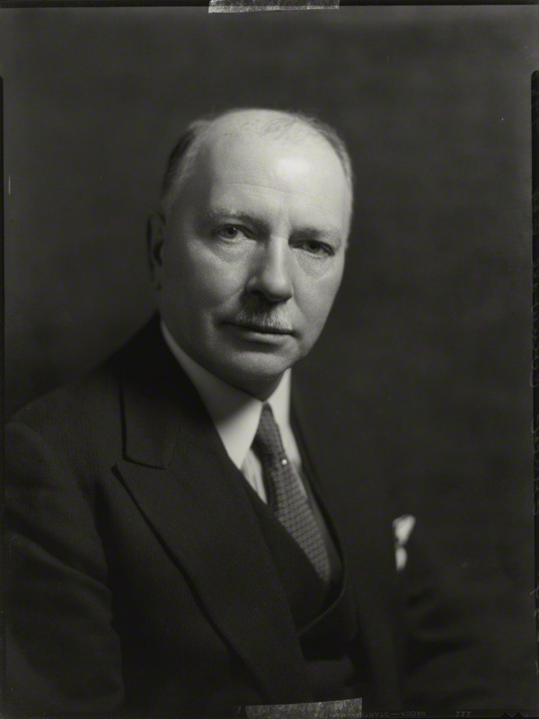 Ernest Cornwall by Bassano, whole-plate film negative, 2 February 1934. Image courtesy of the National Portrait Gallery