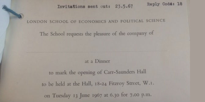Carr-Saunders Hall – living in Bloomsbury